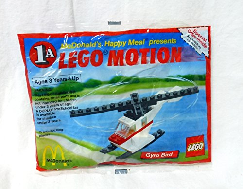 with LEGO Happy Meal Toys design