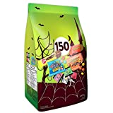 HERSHEY'S 150ct Assorted Halloween Chocolates and Candy- 1.49kg- Includes Reese, Reese's Pieces, OH Henry! and Jolly Rancher Snack Sized Candies.