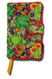 Trade In Best Deals - Trade (Wider) Paperback Size - Frogs in the Garden Pattern Fabric Book Cover - Cloth Print Book Cover