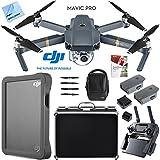 DJI Mavic Pro Quadcopter Drone Fly More Combo Pack Triple Battery w/ Case 2TB HD Kit
