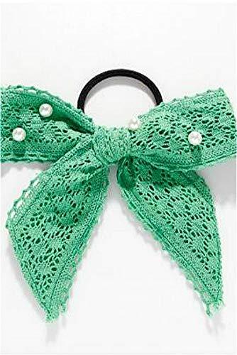 (Summer Foam xueying Zhang Dress up Style Green Ribbon lace Ribbon Scarf yin xia mo Super-Sweet Fairy Hair Bands (508# xueying Zhang Same Style Hair Rope)