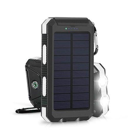 Vuffuw Cargador Solar, Cargador de teléfono portátil ...