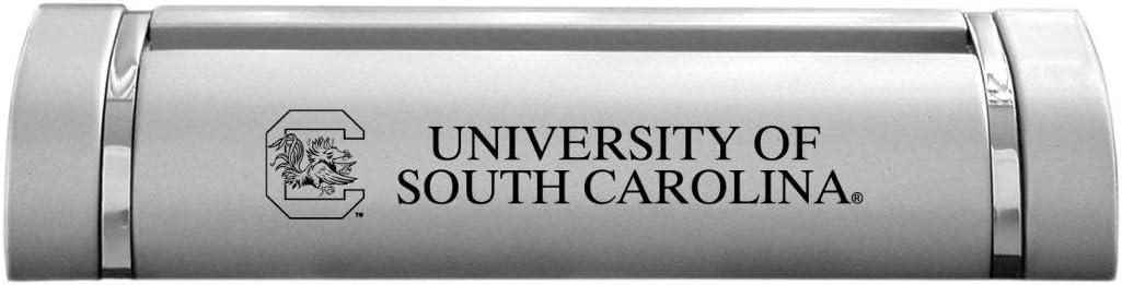 LXG, Inc. University of South Carolina-Desk Business Card Holder -Silver