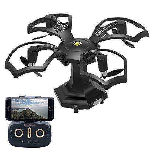 ILYO Drohnen Drohnen Drohnen Mit Einem Kameraflugzeug Spielzeug Fernbedienung Drohne Falten Drohne Luftfotografie HD Professional Helikopter Fernbedienungs Flugzeugmodell Aufladung 2414af