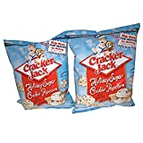 Two Pack Of Cracker Jack Holiday Cookie Popcorn! Each Bag Is 4 Oz! An Old Time Favorite Snack With A Holiday Twist! A Prize Inside As Always! Delicious!