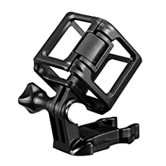 Features:Attach any GoPro Session camera to any GoPro mount.Streamlined for a wide array of compact mounting options.Camera can be positioned multiple ways in the frame for increased mounting flexibility.Provides easy access to the shutter bu...