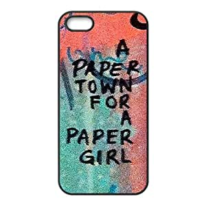 a paere town for a paper girl Phone Case for iPhone 5S Case