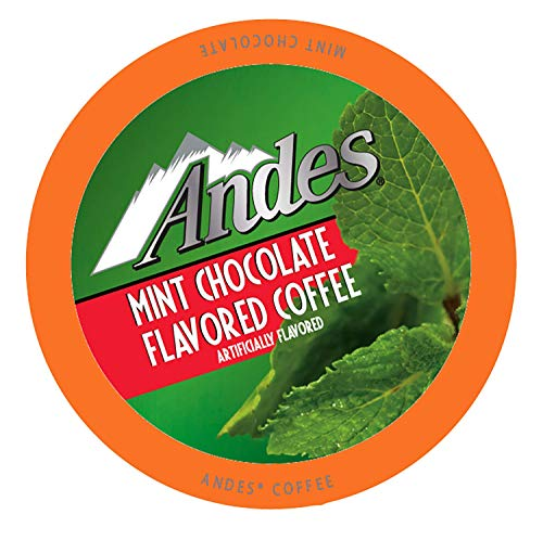 Andes Chocolate Mint Peppermint Coffee Pods for Keurig K-Cup Brewers, 40 Count