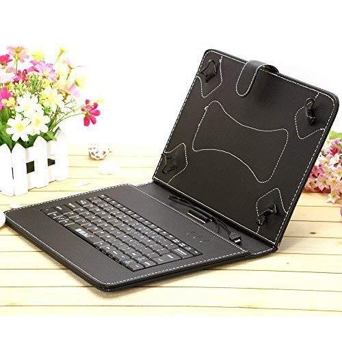 "IRULU Portable 10.1"" 10.5"" Android Tablet USB Keyboard Case - Black"