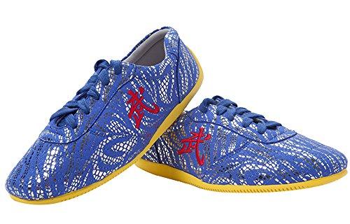 山エミュレートする証人(ファークロス) Yuanbu 太極拳 スニーカー 女性用 牛筋ソール PUレザー 男性用 春秋 プラクティス シューズ キッズ コンペティション 靴