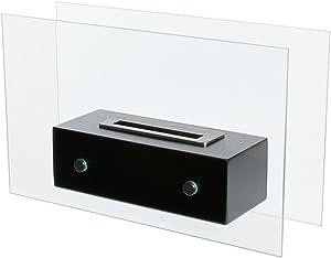 Bio-Blaze Valetta Ethanol Fireplace, Small, Black