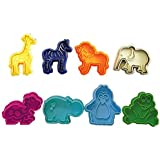 R & M International 434 Party Animal Colored Cookie/Fondant Stamper