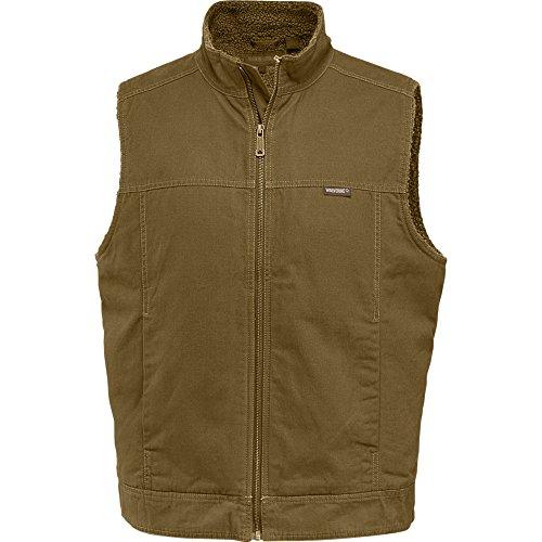 Wolverine Men's Porter Sherpa Lined Vest, peat, Large