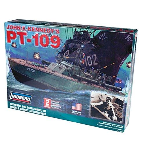 Lindberg 1:64 Scale PT-109 Torpedo Patrol Boat Model Kit 70886