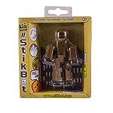 Stikbot, Metalbot Series, Dark Bronze Stikbot Figure, 3 Inches