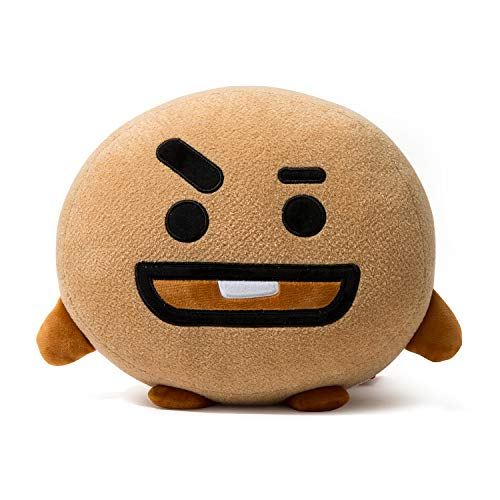 BT21 Official Merchandise by Line Friends - SHOOKY Decorative Throw Pillows Cushion, 16.5 Inch