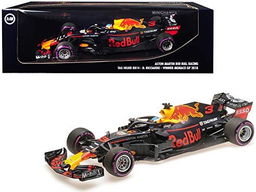 RB14#3 ダニエル リカルドー ウィナー フォーミュラ ワン F1 モナコ GP (2018)