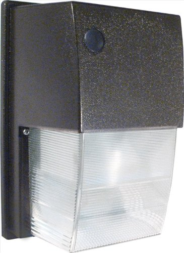 Rab WPTF18 Tallpack 18-Watt CFL QT HPF Poly Lens Lamp with Photocell, Bronze Color