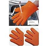 Heat Resistant Gloves Resistant Cooking Gloves Heat
