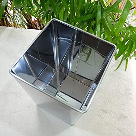 Amazon.com: Zack 50477 ANGOLO waste paper basket: Home & Kitchen