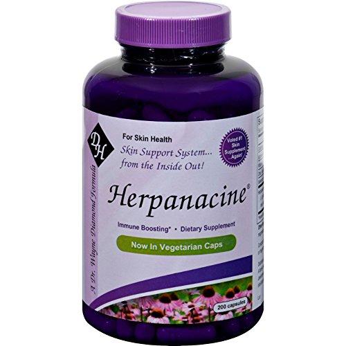 Herpanacine Diamond Total Skin Support System - 200 Capsules ()