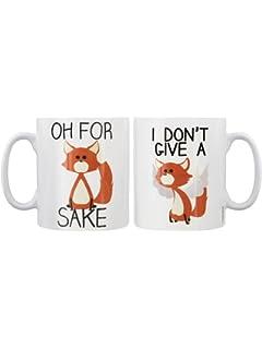 the office star mug. fox sake mugs set of 2 mug white the office star