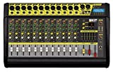 SKP PRO AUDIO VZ-120 II MAX POWER 2000W 12 Channel POWERED MIXER with Bluetooth …