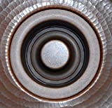 """3.5"""" Garbage Disposal Flange and Stopper Kit Drain for Copper Kitchen Sink"""