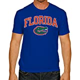 Campus Colors Florida Gators Adult Arch & Logo Soft Style Gameday T-Shirt - Royal, Small