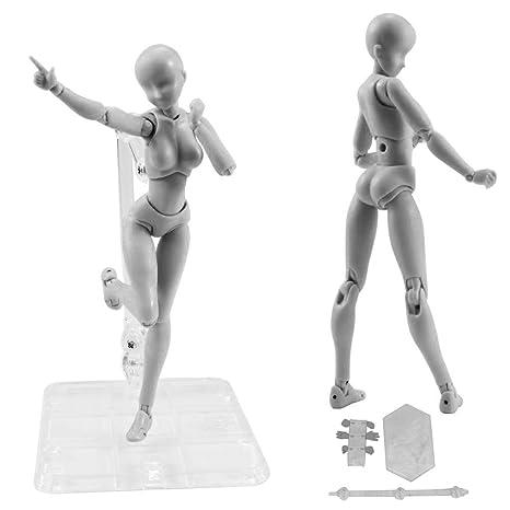 Action Figure Modèle Starall Mannequin Humain Homme Femme Action