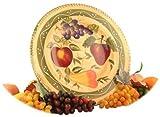 Tuscany Fruit Round Serving platter