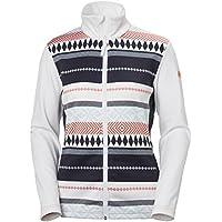 Helly Hansen Graphic Fleece Women's Jacket (White/Urban,Black/Fro)