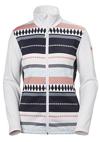 Mujer Chaqueta Helly Blanco Print white Stripe Hansen Graphic urban W Para CqwTw1X