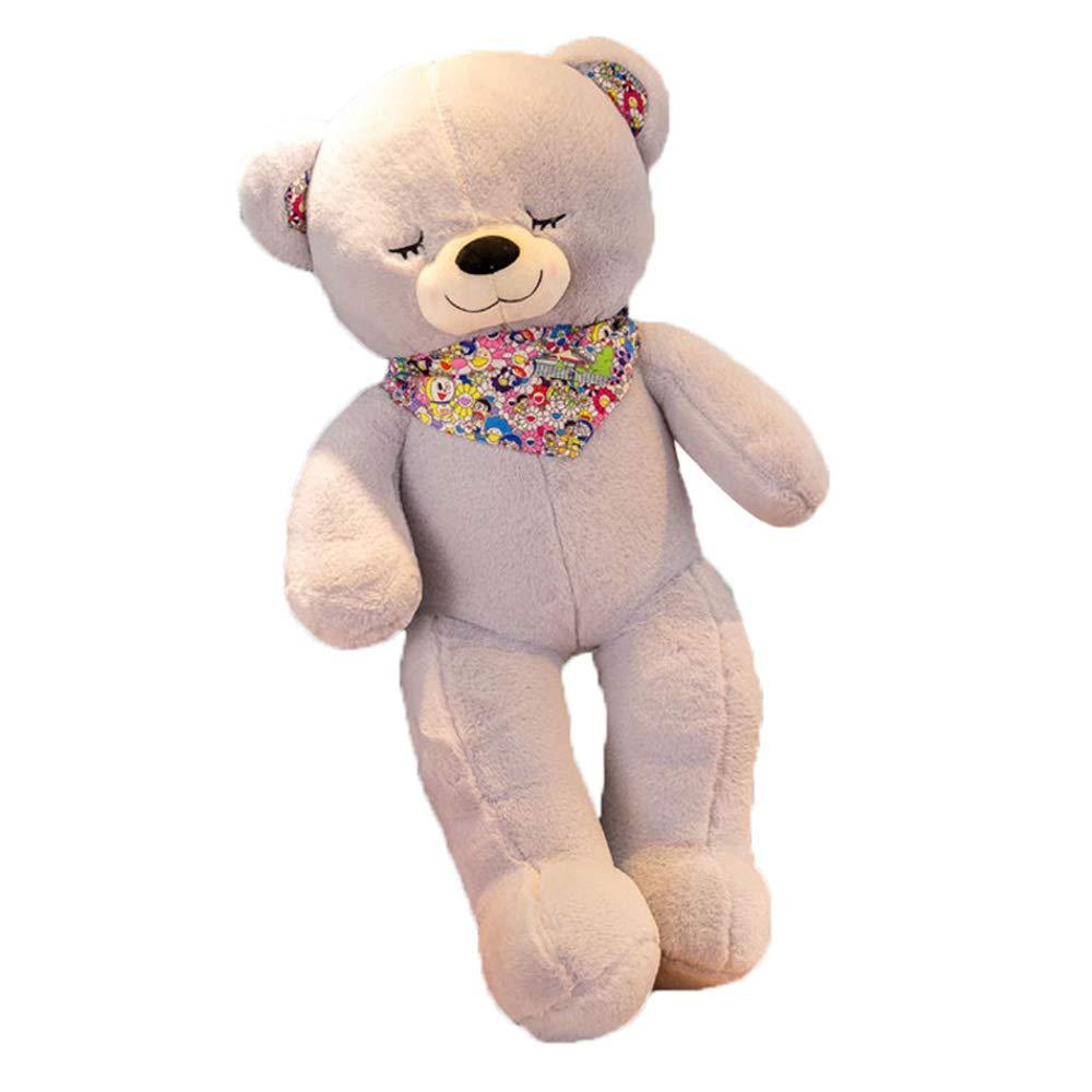 Peluches Día de San Valentín día Festivo cumpleaños Regalo Abrazo muñeca 95cm / 115cm / 135cm Bufanda muñeca Peluche guiño Big Bear Fyxd