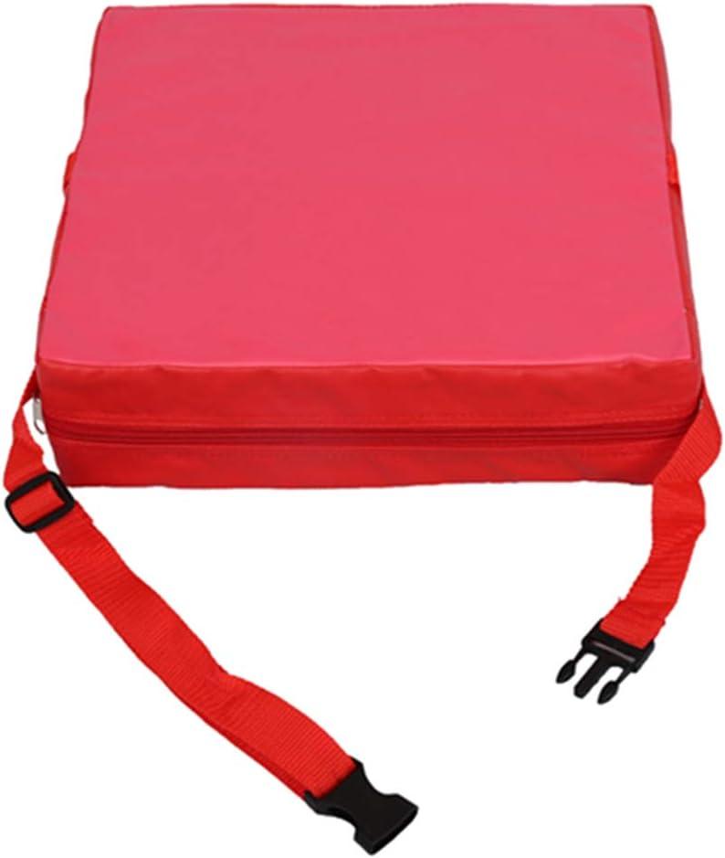 Demarkt Booster Seat Dismountable Adjustable Cushion Baby Kids Children Dining Chair Increase Pad Travel Storage Seat Pad
