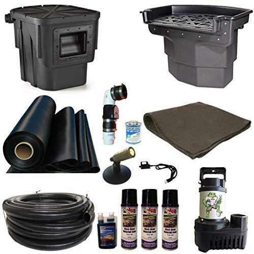 Patriot Complete Pond Kit Atlantic Skimmer Waterfall 5200 GPH Pump 20 x 25 LA2 Complete Pond