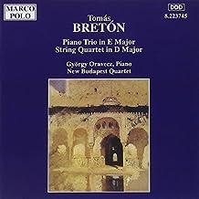 Breton: Piano Trio in E major / String Quartet in D major