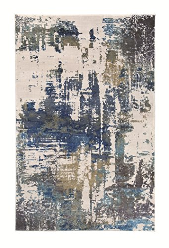 Signature Design by Ashley R402511 Gabe Accent Area Rug, Large/8 x 10', Multicolor - Plush 10' Bright Eyes