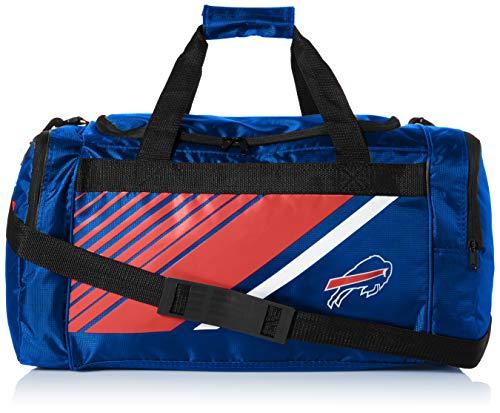 Buffalo Bills Border Stripe Duffle Bag