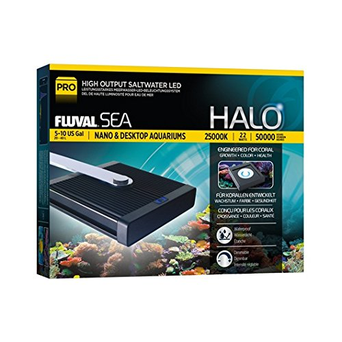 Fluval Sea Halo High Output Saltwater Nano LED Light by Fluval