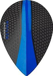 5 x Sets Harrows Retina Dark Blue Dart Flights Pear