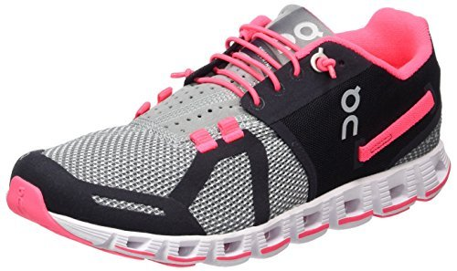 On Cloudflow  Womens Running Shoes Almond Grey