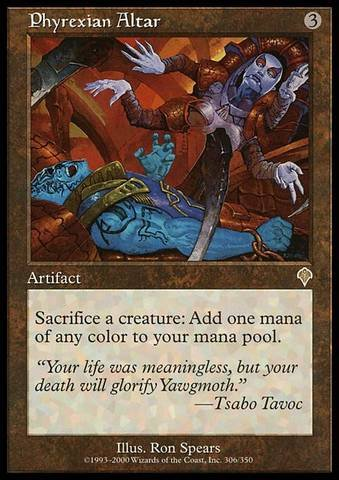 Price comparison product image Magic: the Gathering - Phyrexian Altar - Invasion