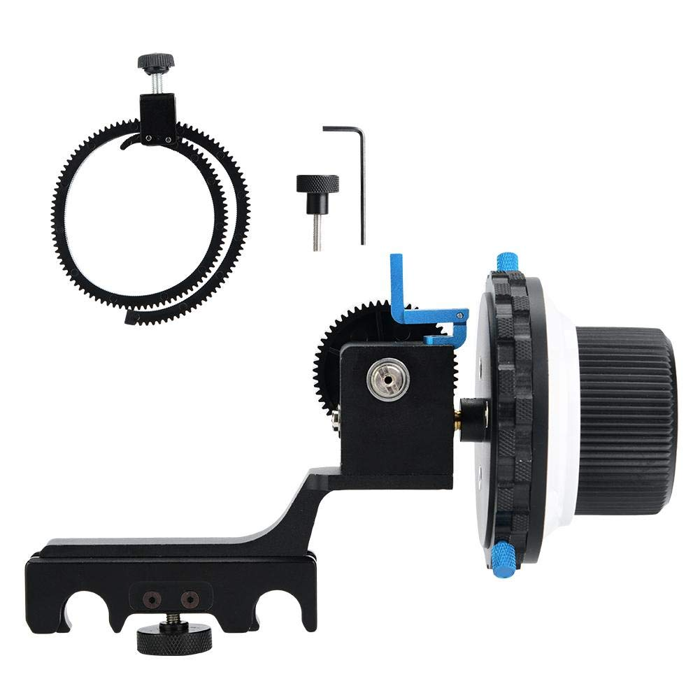 Vbestlife Follow Focus Quick Type Focalizer Focusing Follow with Gear Ring Belt Photographic Equipment for DSLR Camera/Camcorder/Video Cameras by Vbestlife