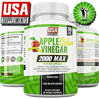 Amazon.com: Apple Cider Vinegar Pills for Weigh Loss | 1