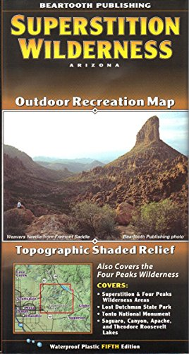 Superstition Wilderness Outdoor Recreation Map (Arizona Maps, 3) ()