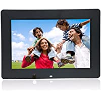 Boddenly 13-inch High-definition 1366x768 Ultra-thin Digital Photo Frame MP3 Video Player With Motion Sensor Remote Control(black)