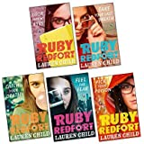 Lauren Child Ruby Redfort Collection 6 Books Set (Book 1-6) (Pick Your Poison, Look into My Eyes, Take Your Last Breath…