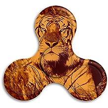 Tiger Adults & Children High Speed Tri-Spinner Hands Spinner Fidgets Fingertip Finger Toy Bearing Toy