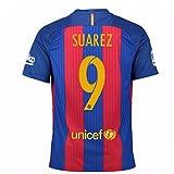 2016-17 Barcelona Home Shirt (Suarez 9)
